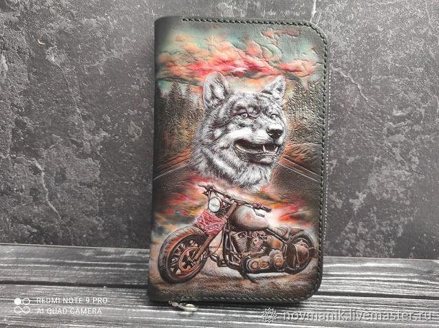 Портмоне (кошелек, бумажник) на молнии №2, Кошельки, Ковров,  Фото №1