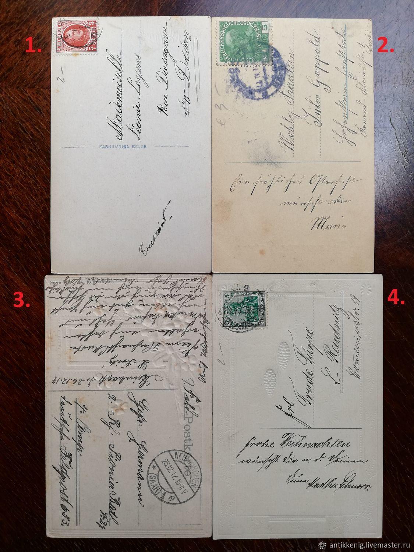 новогодние домики почтовая открытка антикварный магазин сможете сравнить