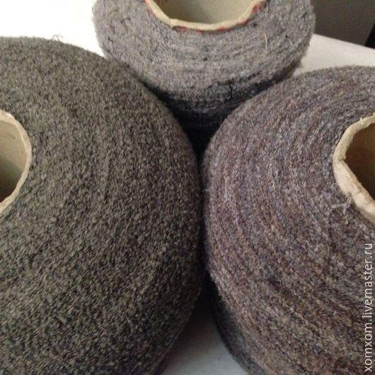 Вязание ручной работы. Ярмарка Мастеров - ручная работа. Купить Мягкая вискоза, пряжа в бобинах. Handmade. Серый, вискоза в бобине