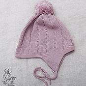 Детская шерстяная шапочка №6 (52-56см)