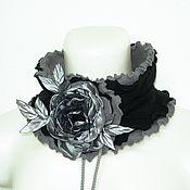 Аксессуары handmade. Livemaster - original item ANEMONE Collar Scarf. Handmade.