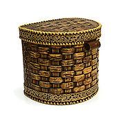 Для дома и интерьера handmade. Livemaster - original item Large Wicker box. storage.. Handmade.