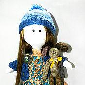 Куклы и игрушки ручной работы. Ярмарка Мастеров - ручная работа Кукла с зайкой. Handmade.