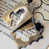 Украшения ручной работы. Ярмарка Мастеров - ручная работа Серьги серебро Птицы серебряные серьги из серебра. Handmade.