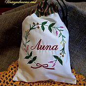 Для дома и интерьера handmade. Livemaster - original item Bag Lime. Handmade.
