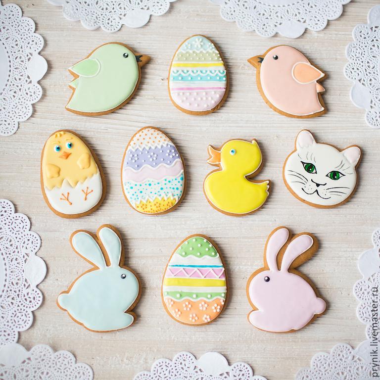Set Easter baby cakes, Gingerbread Cookies Set, St. Petersburg,  Фото №1