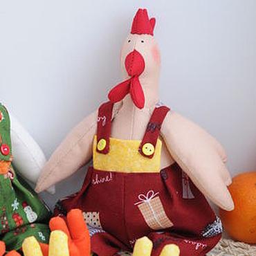 Куклы и игрушки ручной работы. Ярмарка Мастеров - ручная работа Петух Тильда. Handmade.