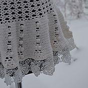 """Одежда ручной работы. Ярмарка Мастеров - ручная работа Пуловер вязаный """" Белые  кружева"""". Handmade."""
