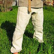 Русский стиль ручной работы. Ярмарка Мастеров - ручная работа Порты из домотканой конопли. Handmade.