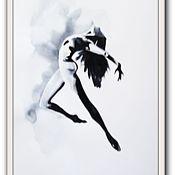 Картины и панно ручной работы. Ярмарка Мастеров - ручная работа картина 9 Балет- любовь моя. Handmade.