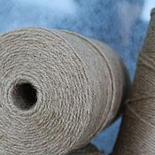 Материалы для творчества handmade. Livemaster - original item Jute.Jute yarn 2 mm in three strands 1 kg 1000 meters 400 R.. Handmade.