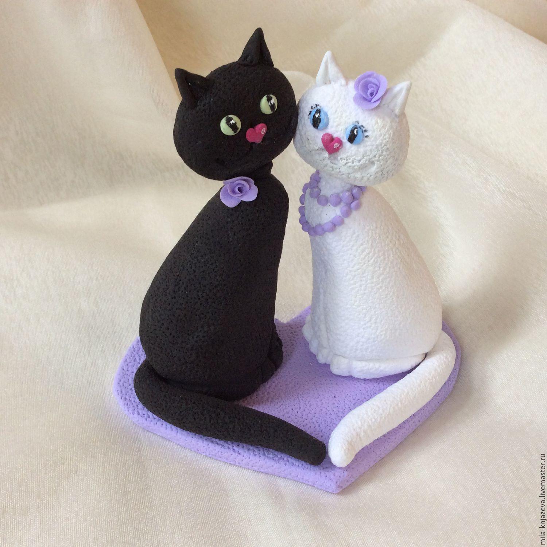 Коты фигурки на торт