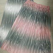 """Одежда ручной работы. Ярмарка Мастеров - ручная работа Юбка - плиссе """"Жемчужина"""". Handmade."""