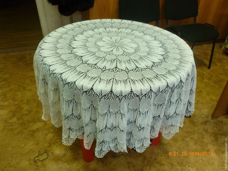 Скатерть на круглый стол своими руками фото фото 903