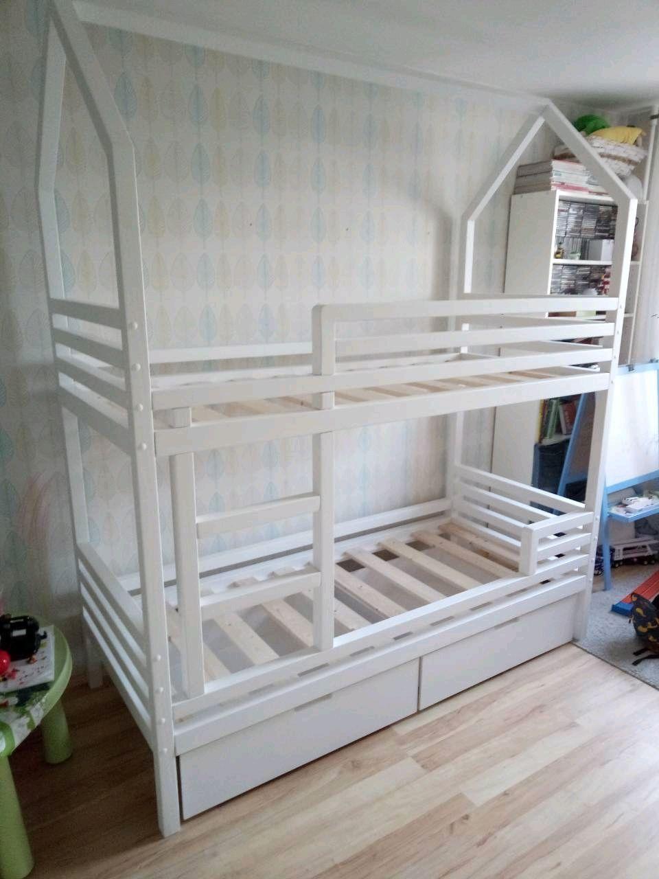 Двухьярусная кровать домик, Кровати, Санкт-Петербург,  Фото №1