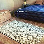Подарки к праздникам handmade. Livemaster - original item Large EcoMat carpet made of sea pebbles. Handmade.