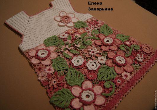 """Одежда для девочек, ручной работы. Ярмарка Мастеров - ручная работа. Купить Платьице """"Нежность"""". Handmade. Комбинированный"""
