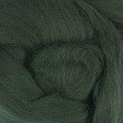 Материалы для творчества handmade. Livemaster - original item Merino 18mkr 50 gr. Spruce. Handmade.