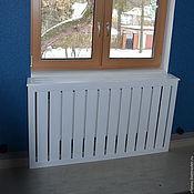 Для дома и интерьера ручной работы. Ярмарка Мастеров - ручная работа Экраны для радиаторов. Handmade.