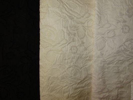 Шитье ручной работы. Ярмарка Мастеров - ручная работа. Купить Тафта фукра арт.1 Ф (Корея). Handmade. Черный