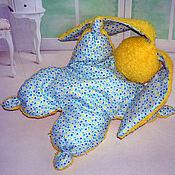 """Куклы и игрушки ручной работы. Ярмарка Мастеров - ручная работа Зайка -сплюшка для сна """"Солнечный зайчик"""" ( зайка, игрушка, сон). Handmade."""