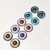 Материалы для творчества handmade. Livemaster - original item Glass eyes for toys Art. GS02. Handmade.