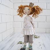 Куклы и игрушки ручной работы. Ярмарка Мастеров - ручная работа Кукла текстильная. Как стать Принцессой.. Handmade.