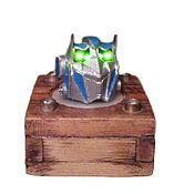 Для дома и интерьера handmade. Livemaster - original item Night light, rechargeable candle Optimus Prime. Handmade.