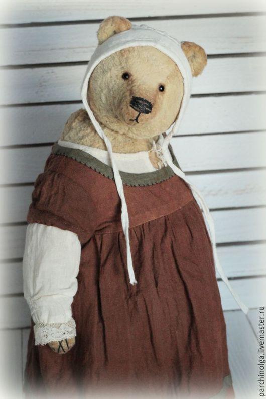 Мишки Тедди ручной работы. Ярмарка Мастеров - ручная работа. Купить Джейн. Handmade. Коричневый, тедди мишка, плюш