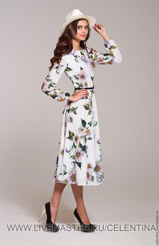 Платье из шифона с рукавом своими руками фото 957