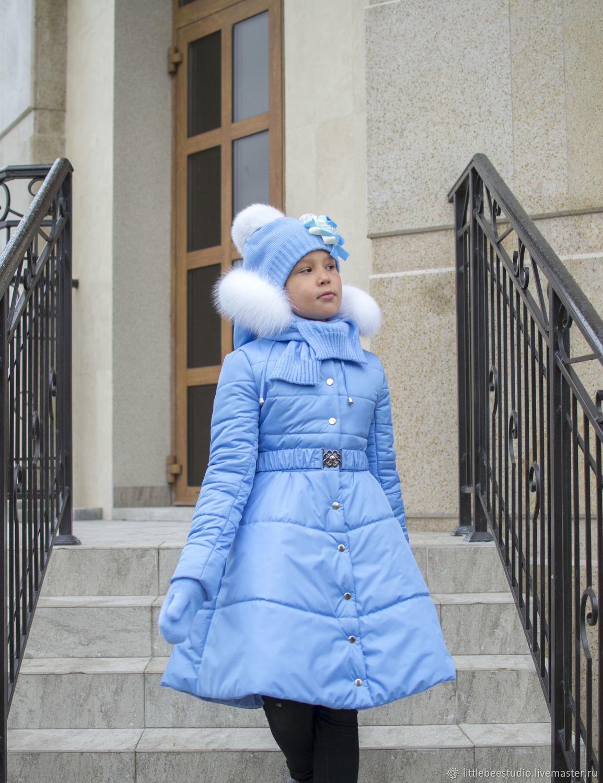 """Зимнее пальто  """"Анастасия"""", Верхняя одежда детская, Пенза,  Фото №1"""