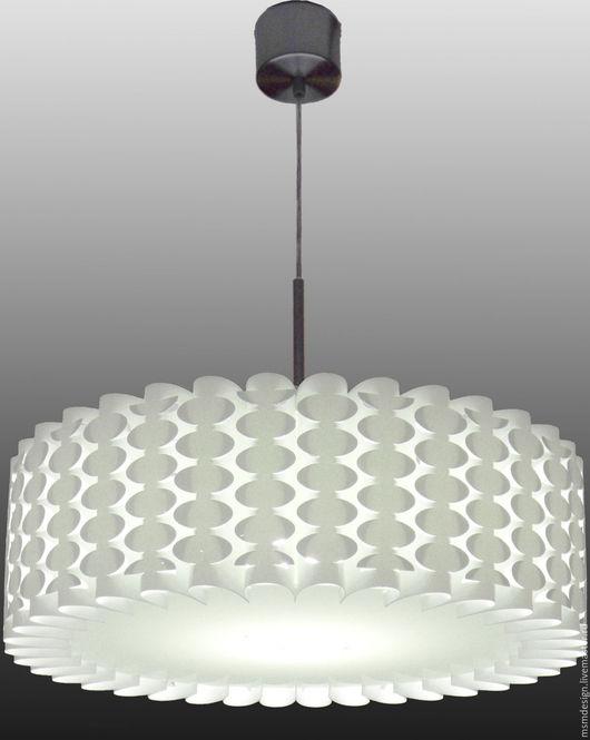 Освещение ручной работы. Ярмарка Мастеров - ручная работа. Купить Светильник подвесной DAISY-01 (овал). Handmade. Белый