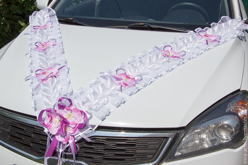 Как сшить на машину свадебное украшение на 281