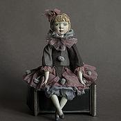 Куклы и игрушки ручной работы. Ярмарка Мастеров - ручная работа Будуарная кукла Пьеретта.. Handmade.