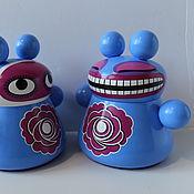 Куклы и игрушки ручной работы. Ярмарка Мастеров - ручная работа Ультрамариновый кот. Handmade.