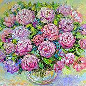 Картины и панно handmade. Livemaster - original item Picture of roses