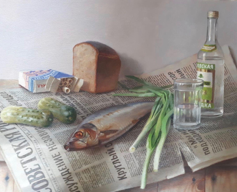 Картинка водочка с селедочкой