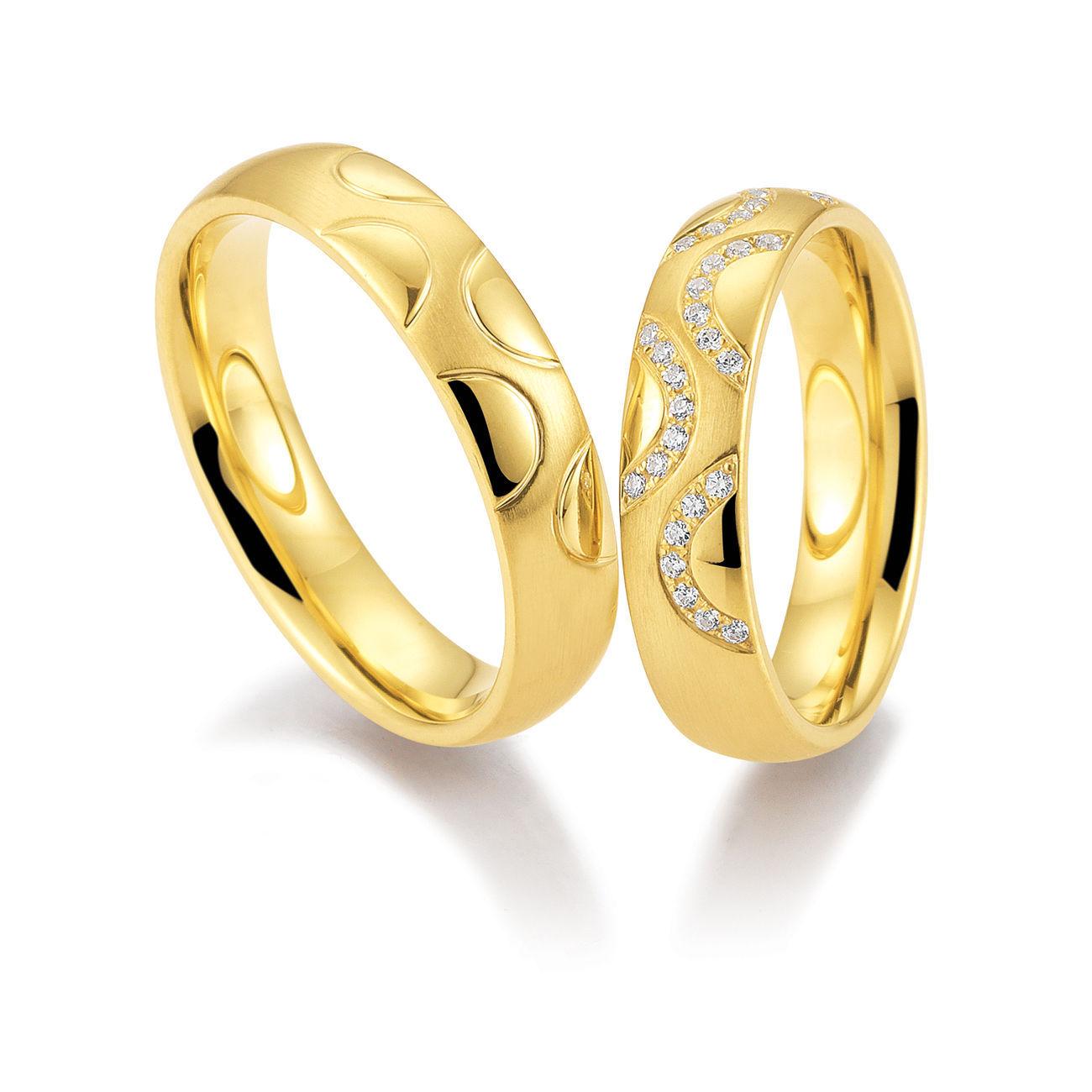 Обручальные кольца с бриллиантами в 2019