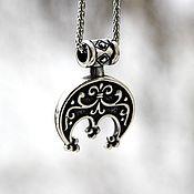 Украшения handmade. Livemaster - original item Pendant / Amulet Crescent of Jewelry Steel. Handmade.