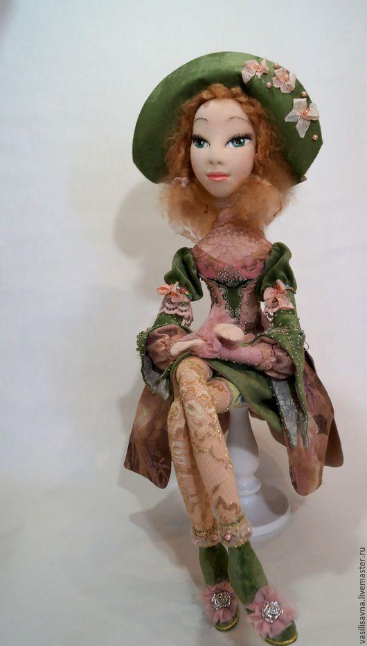 Коллекционные куклы ручной работы. Ярмарка Мастеров - ручная работа. Купить Эден. Handmade. Зеленый, куклы и игрушки, бязь