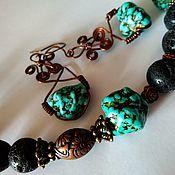 Украшения handmade. Livemaster - original item Necklace and earrings