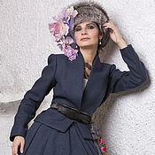 Одежда ручной работы. Ярмарка Мастеров - ручная работа Шерстяной жакет для леди. Handmade.