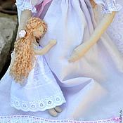 """Куклы и игрушки ручной работы. Ярмарка Мастеров - ручная работа Ангел """"Кто в домике живет""""?. Handmade."""