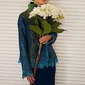 Пиджаки ручной работы. Ярмарка Мастеров - ручная работа Райский цветок. Handmade.
