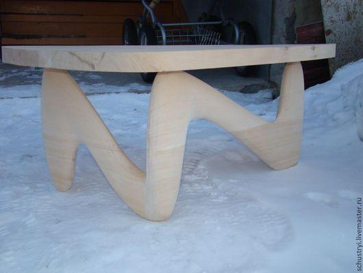 Мебель ручной работы. Ярмарка Мастеров - ручная работа. Купить Журнальный столик из кедра Компромисс. Handmade. Мебель из кедра