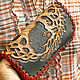 Wallet leather 'Tree of Life' - color. Wallets. schwanzchen. My Livemaster. Фото №5