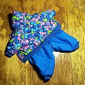 Для домашних животных, handmade. Livemaster - original item Indoor winter jacket for boy. Handmade.