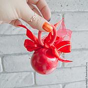 Украшения ручной работы. Ярмарка Мастеров - ручная работа Резинка для волос Мак. Handmade.