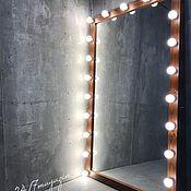 Для дома и интерьера handmade. Livemaster - original item Dressing room floor mirror AMERICAN WALNUT. Handmade.