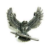 Украшения handmade. Livemaster - original item Medallion: A suspension of 925 sterling silver